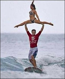 surfer dude and friend