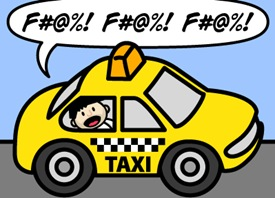 taxi-cussing