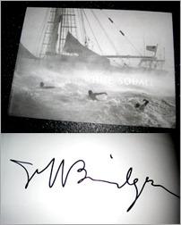 autographed photo book by jeff bridges