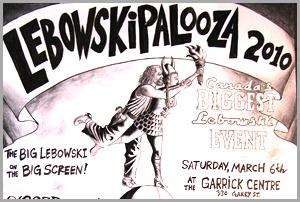 lebowskipalooza flyer