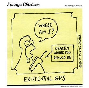 existential chicken
