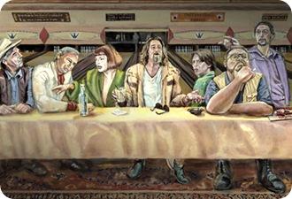 lebowski last supper