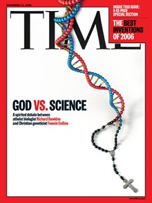 time magazine science and religion