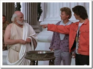 socrates with bill and ted