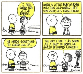 ukulele charlie brown
