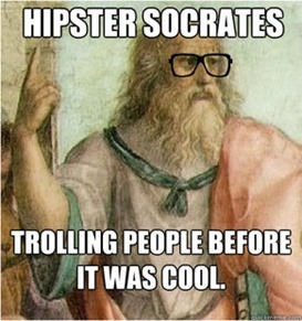 hipster socrates