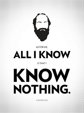 socrates knows nothing